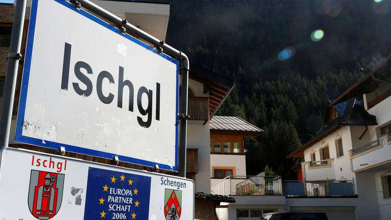 An image that illustrates this article Austria hears first suit over Covid 'super-spreader' outbreak at ski resort