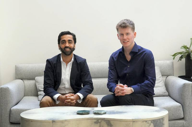 Shahzad Younas, 33, and Ryan Brodie, 24, are the London-based co-founders of a popular Muslim dating app called Muzmatch.