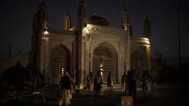 Bomb at Kabul mosque kills five civilians, Taliban say