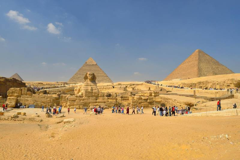 H4BGBB Great Sphinx of Giza, Giza Pyramids, Cairo, Egypt, Middle East, North Africa, Africa