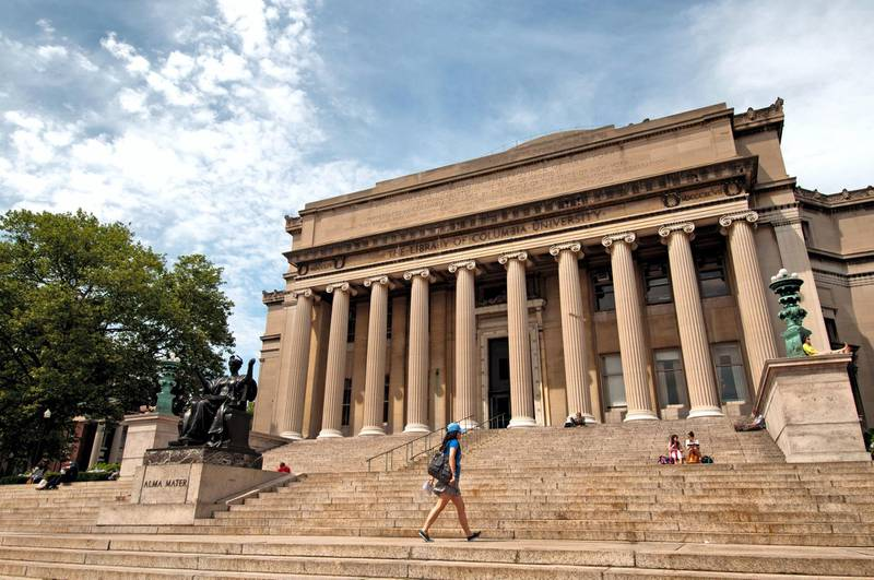 CW151D Columbia University ( in the City of New York ) Upper West Side Harlem United States of America