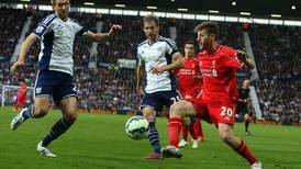 With 'maximum points' from remaining matches Adam Lallana says Liverpool can snatch top-four spot from Man United