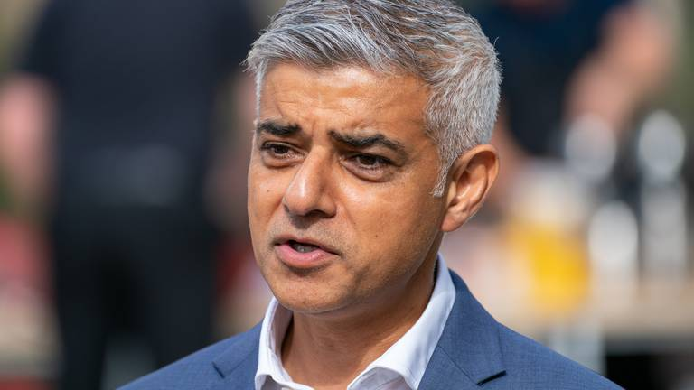 An image that illustrates this article London mayor warns of threat to city from climate emergency