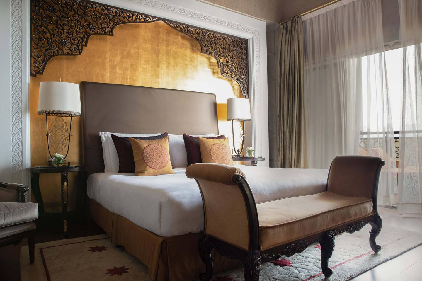 Jumeirah Zabeel Saray - Imperial Two Bedroom Suite - King Bed. Courtesy Jumeirah Zabeel Saray