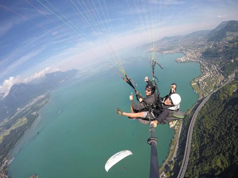 The Lake Geneva region of Switzerland. Maude Rion/ Montreux Riviera Tourism