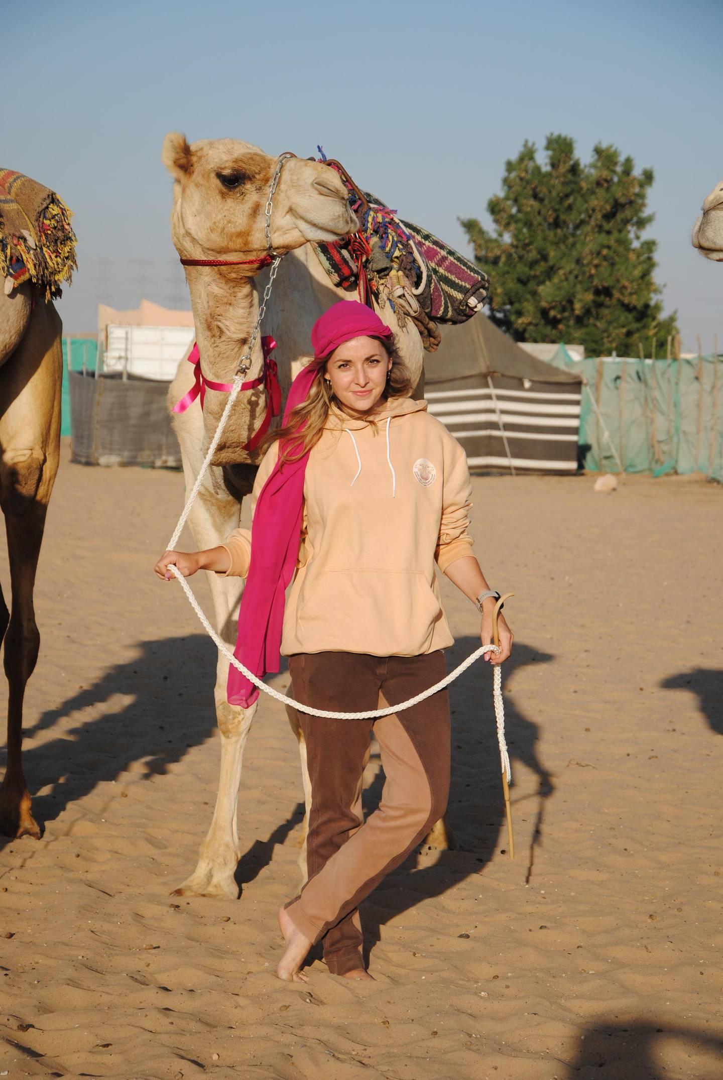 German-national Linda Krockenberger is one of the managers of the Arabian Desert Riding Centre. Courtesy Linda Krockenberger