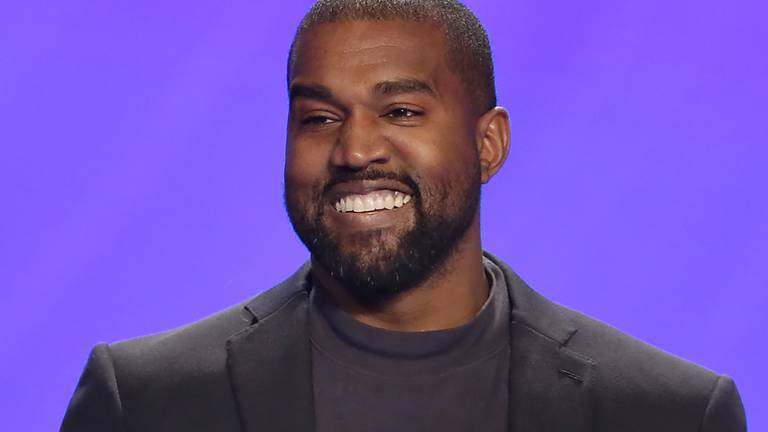 An image that illustrates this article Goodbye, Kanye Omari West: rapper formally changes his name to Ye