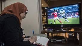 Egypt's Manar Sarhan, told 'girls belong in kitchens', proving football punditry also works