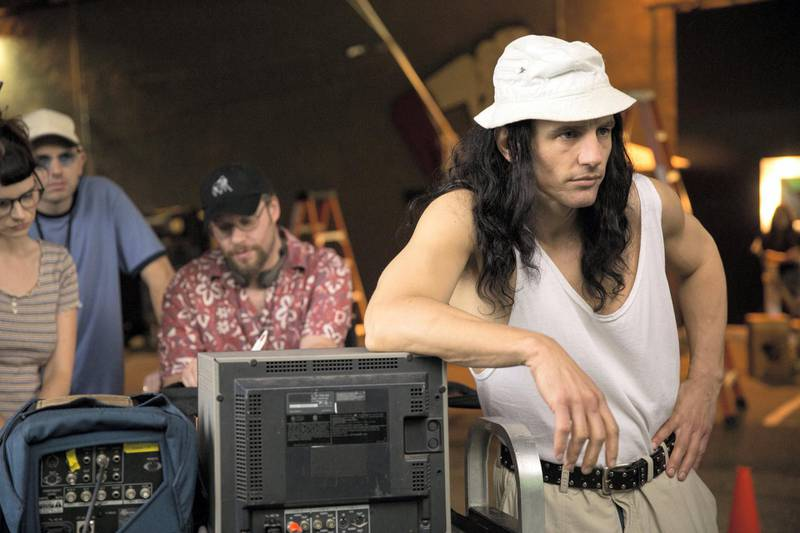 James Franco in The Disaster Artist. Courtesy DIFF