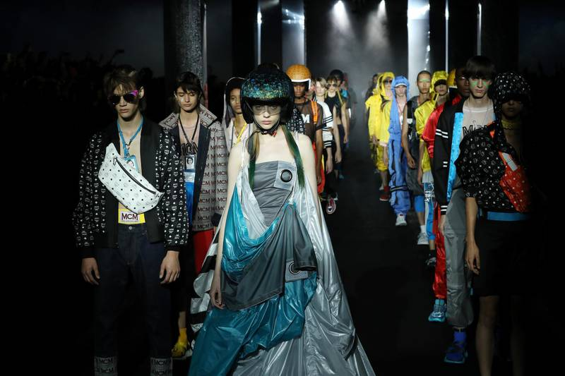 FLORENCE, ITALY - JUNE 13:  Venue of the MCM Fashion Show Spring/Summer 2019 during the 94th Pitti Immagine Uomo on June 13, 2018 in Florence, Italy.  (Photo by Elisabetta Villa/Getty Images for MCM)