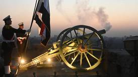 Egypt's historic Ramadan cannon fires for first time in 30 years