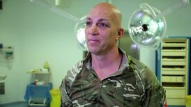 British Army surgeon uses experience as new father to deal with babies handed to troops