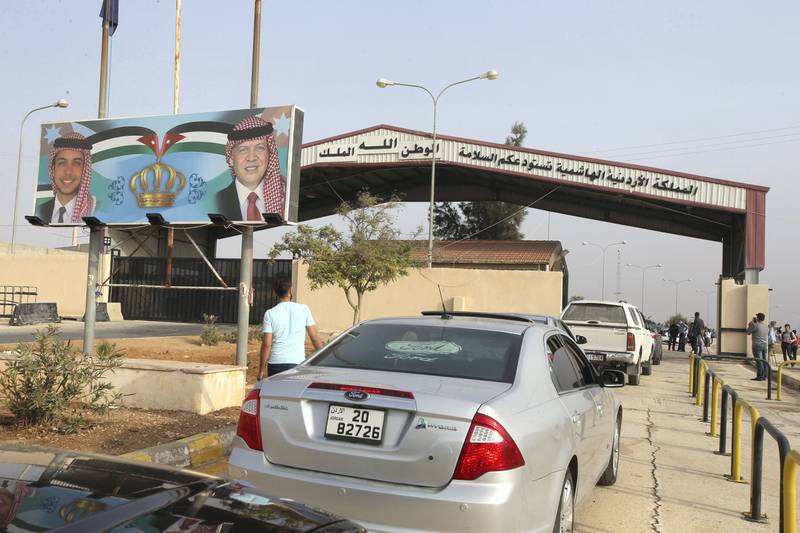 Crossing Jaber- Naseeb between Jordan and Syria opens on Monday morning kicking off the movement of passengers and transportation between the two countries. (The National)