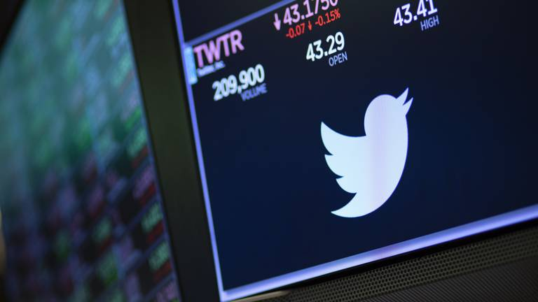 An image that illustrates this article Twitter avoids revenue hit from Apple privacy changes