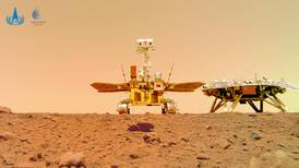 Say 'cheese': China's Zhurong rover sends back selfie from Mars
