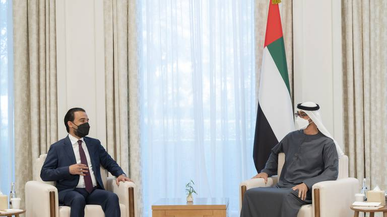An image that illustrates this article Iraqi Speaker visits UAE to discuss joint parliamentary panel
