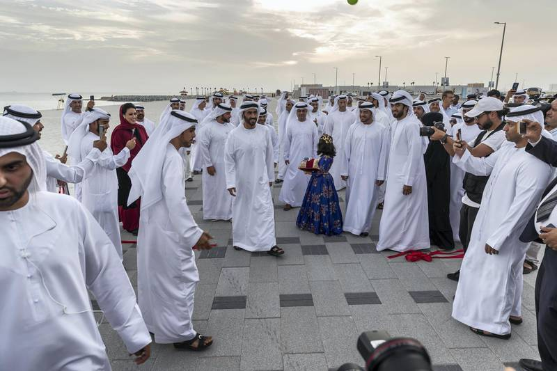 ABU DHABI, UNITED ARAB EMIRATES. 27 MAY 2018. Opening of Hudayriat beach next to Al Bateen beach.Official opening ceremony of the island to the public. (Photo: Antonie Robertson/The National) Journalist: Haneen Dajani. Section: National.