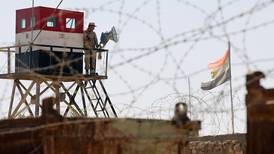 Egypt's military: 13 militants killed and nine troops killed or wounded in Sinai