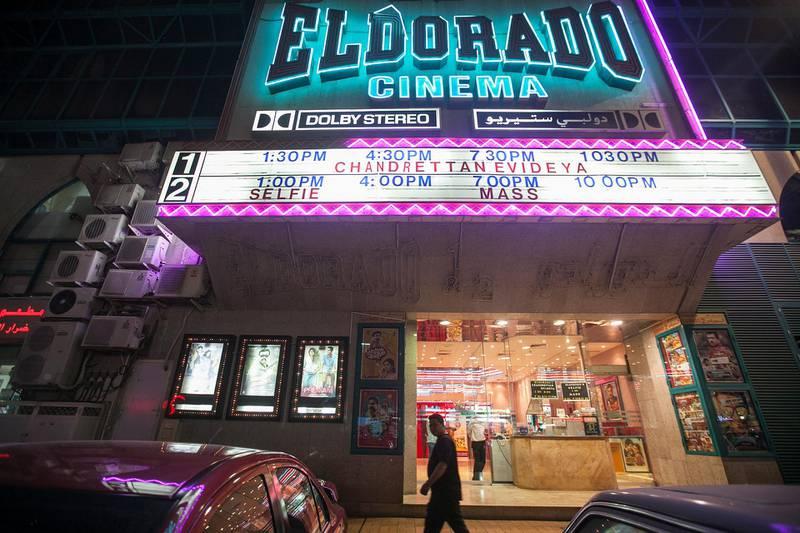 Abu Dhabi, United Arab Emirates. June 9, 2015///El Dorado cinema on Electra street. Abu Dhabi, United Arab Emirates. Mona Al Marzooqi/ The National Reporter: Zaineb Al Hassani Section: Review  *** Local Caption ***  150609-MM-ElDorado-003.JPG