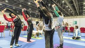 Inside Abu Dhabi's Special Olympics yoga programme that keeps athletes strong in body and mind