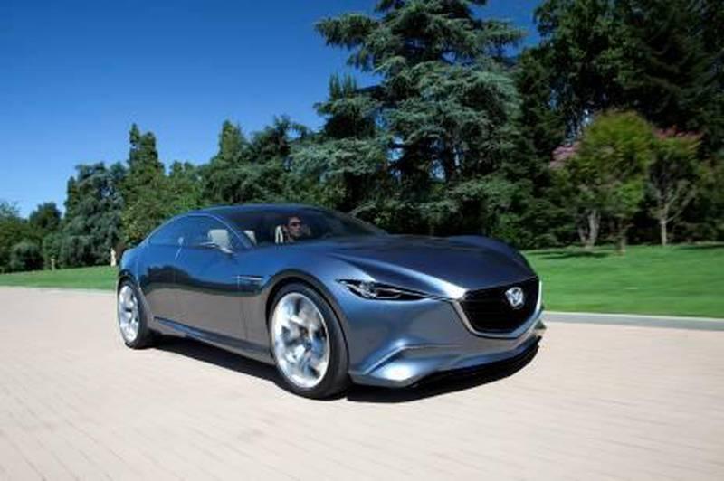 Mazda Shinari.  Courtesy of Mazda