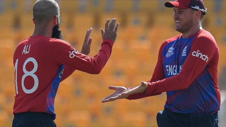 An image that illustrates this article T20 World Cup: England maintain perfect start with another commanding win