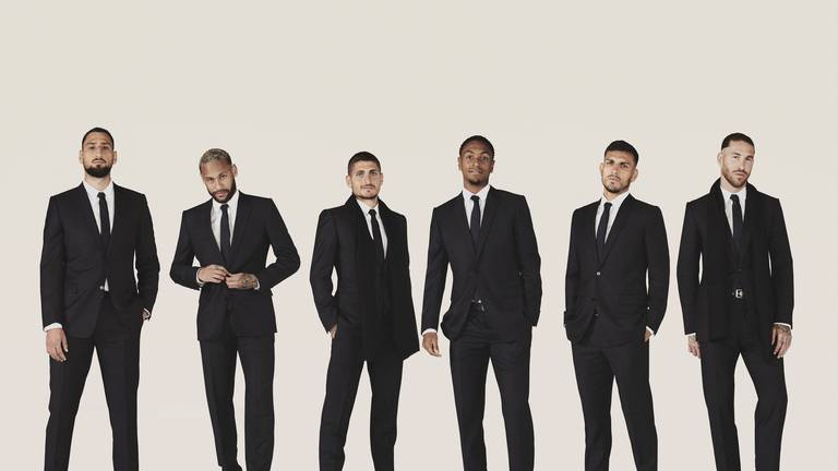 An image that illustrates this article When fashion meets football: the luxury labels collaborating with clubs
