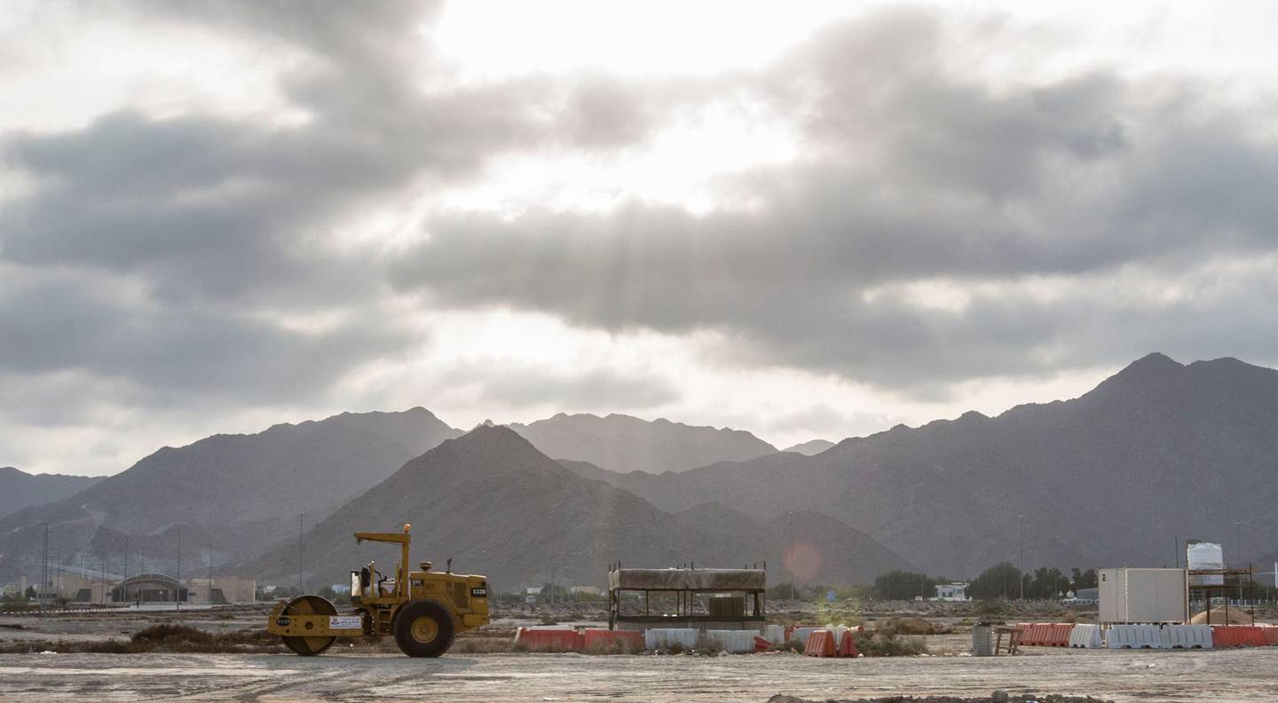 Fujairah, United Arab Emirates-  Partially cloudy in Fujairah.  Leslie Pableo for The National