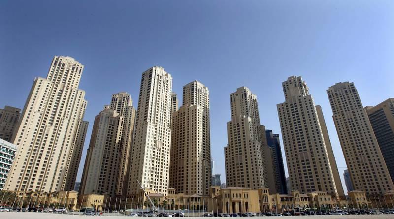 DUBAI.  4th November. 2009. Jumeriah Beach Residence apartments, Dubai.   Stephen Lock   /   The National   FOR SATURDAY PAPER *** Local Caption ***  SL-jbr-005.jpg