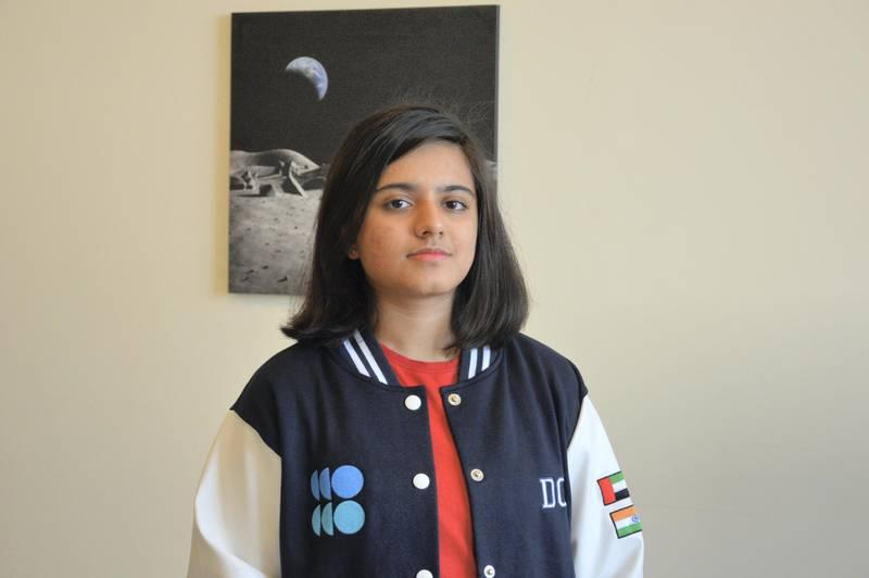 Durga Chandrashekhar, an IB diploma pupil in Dubai, plans to study Chemistry in the UAE and train to be an astrochemist. Courtesy: Durga Chandrashekhar
