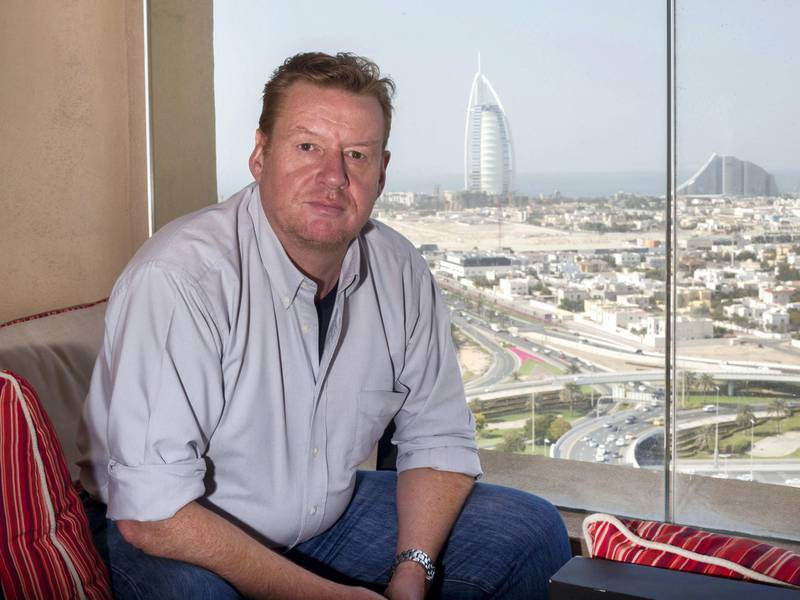Dubai, United Arab Emirates - Chris Haill, the Briton wo was rescued by police from a suicide attempt in January is speakoing about mental health services in the UAE and why a 24 hour helpline is needed.  Leslie Pableo for The National