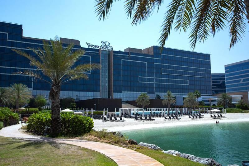 Hotel Fairmont Bab Al Bahr, Abu Dhabi. May 21, 2021. Victor Besa/ The National.