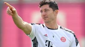 Muller and Lewandowski train with Bayern Munich ahead of Barcelona battle - in pictures