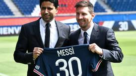 Lionel Messi 'ready to fight for all the trophies' after being presented by PSG