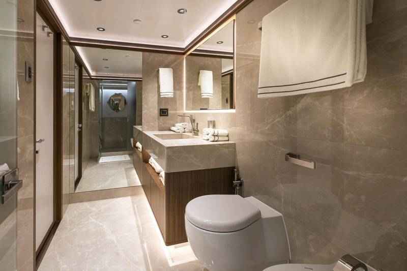 Majesty 140 - Interior - Double Guest En Suite. Courtesy: Seven Media
