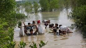 123,000 Rohingya refugees flee Myanmar