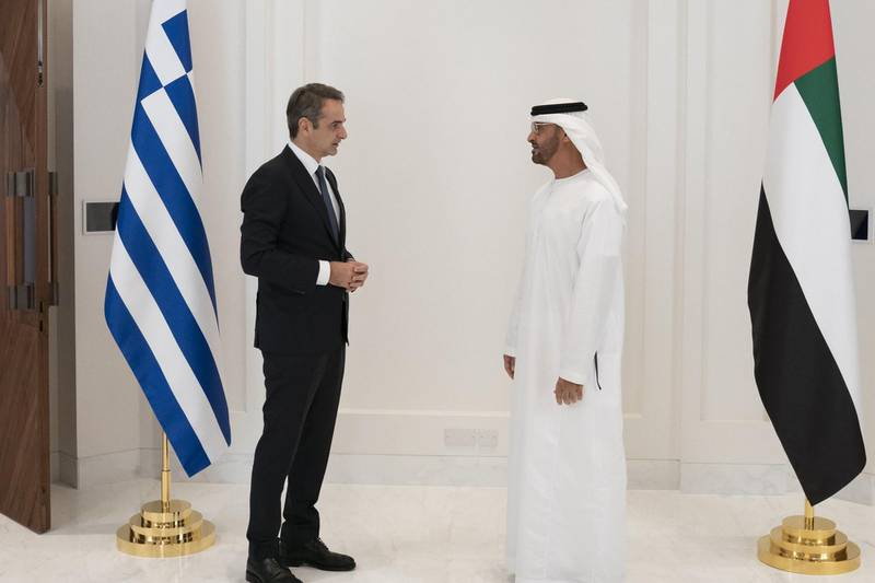 I had the pleasure of meeting Kyriakos Mitsotakis, the Prime Minister of Greece, and I am happy to announce the establishment of a strategic partnership to enhance political, economic and cultural cooperation between our countries.