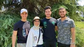 The four degrees: Dubai quadruplets all graduate from Oxford Brookes University