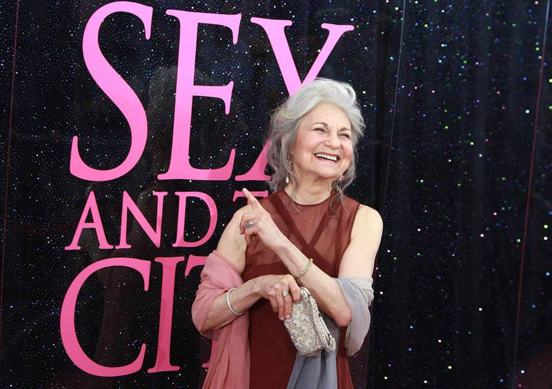 """NEW YORK - MAY 27:  Actress Lynn Cohen attends the premiere of """"Sex and the City: The Movie"""" at Radio City Music Hall on May 27, 2008 in New York City.  (Photo by Stephen Lovekin/Getty Images)"""