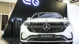 First Mercedes electric SUV makes UAE debut in Abu Dhabi – in pictures