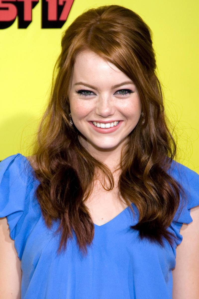 US actress Emma Stone arrives for the premiere of 'Superbad' at Grauman's Chinese Theatre in Hollywood, California USA on 13 August 2007.  Superbad opens in the USA on 17 August 2007.  EPA/JOSHUA GATES WEISBERG