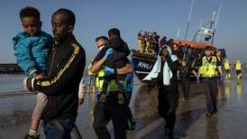 Fishermen watch French and UK coastguards pick up migrants in English Channel
