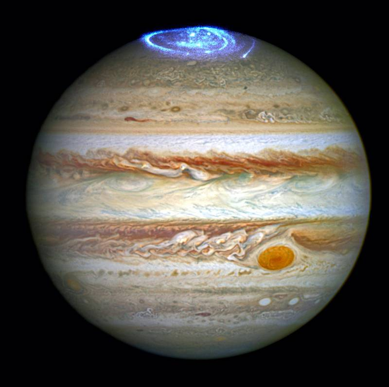 Astronomers are using the NASA/ESA Hubble Space Telescope to study auroras — stunning light shows in a planet's atmosphere — on the poles of the largest planet in the solar system, Jupiter. NASA