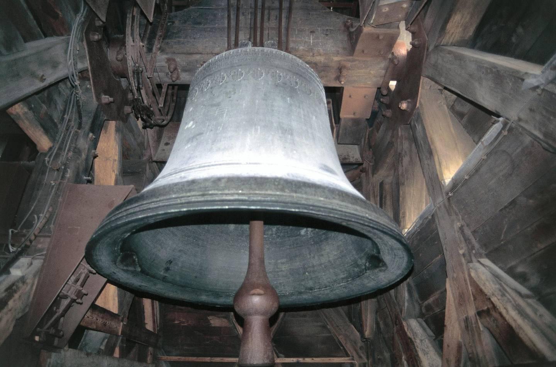 FRANCE - APRIL 08: The Emmanuel bell of Notre-Dame Cathedral, 1685 (UNESCO World Heritage List, 1991), Ile de la Cite, Paris, Ile-de-France, France. (Photo by DeAgostini/Getty Images)