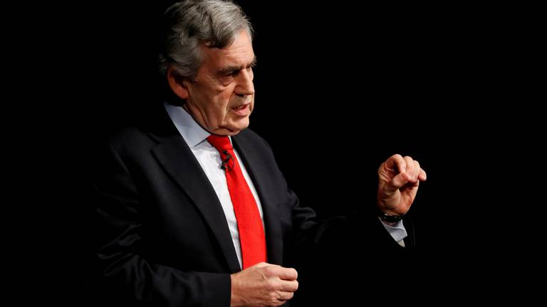 An image that illustrates this article UK's Gordon Brown becomes ambassador for World Health Organisation