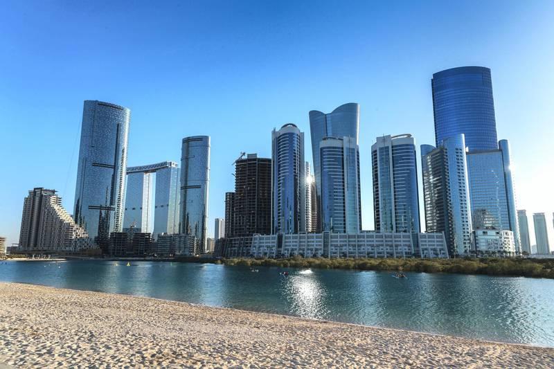 Abu Dhabi, United Arab Emirates, October  21, 2020.   Al Reem Island for area guide.Victor Besa/The National.Section:  NAReporter:  Gillian Duncan