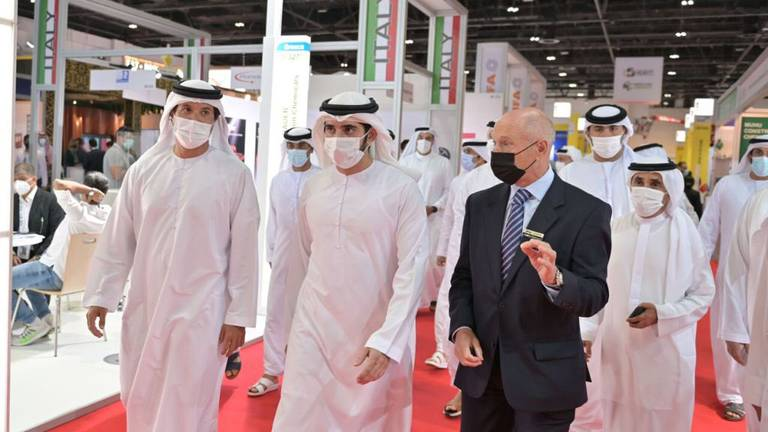 An image that illustrates this article Return of in-person events in Dubai boosts economic growth, says Sheikh Hamdan