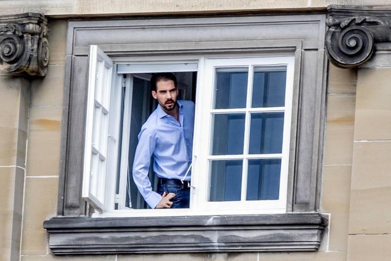 Mandatory Credit: Photo by Utrecht Robin/Action Press/Shutterstock (9694057cu) Prince Philippos of Griechenland Crown Prince Frederik celebrates 50th birthday, Copenhagen, Denmark - 26 May 2018