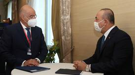Greek and Turkish foreign ministers meet in Bratislava