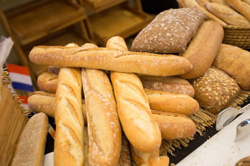 Handout of  French baguette, Aperitif a la Francaise, French Food. Courtesy of Aperitif a la Francaise.    *** Local Caption ***  Aperitif a la Francaise 01.jpg